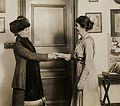 Emmeline Pankhurst and unidentified woman, c.1912. (22926400092).jpg