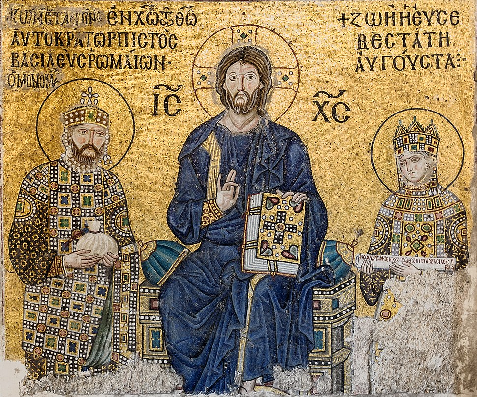 Empress Zoe mosaic Hagia Sophia