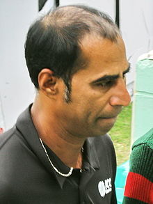 Enamul Haque umpire, 23 January, 2009, Dhaka SBNS.jpg