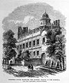 Engraving of Cromwell House, Highgate. Wellcome L0004841.jpg