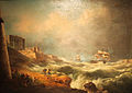 Entrance to Grand Harbour in Storm.jpg