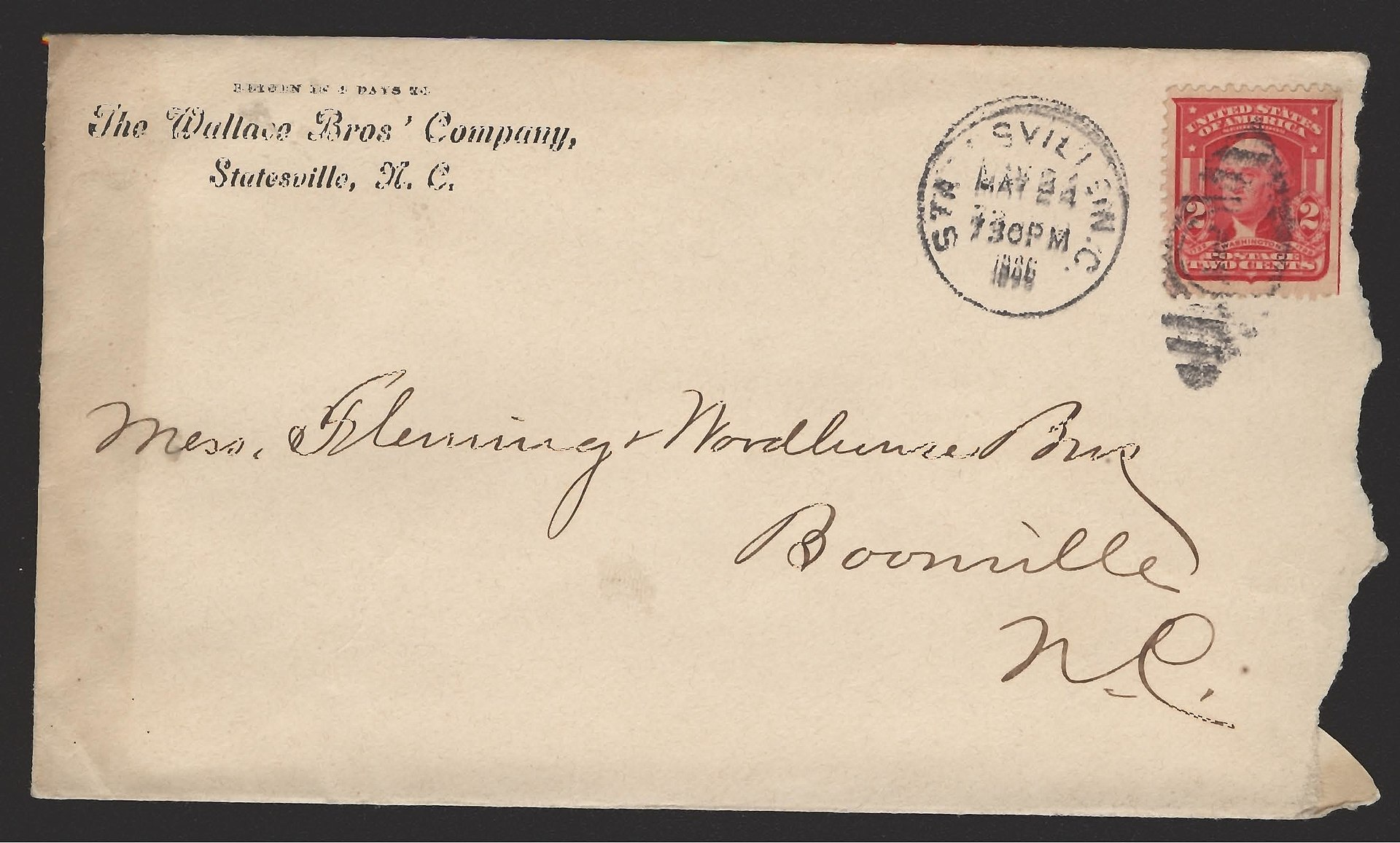 1920px-Envelope_-_Boonville_Address-000 Letter Template With Fold Marks For Envelopes A Window on