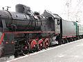 Er 797-41 steam train departing from Rizhsky Rail Terminal (Отправление состава, ведомого паровозом Эр 797-41 с Рижского Вокзала) (5383753881).jpg