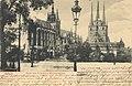 Erfurt, Thüringen - Dom und Severinskirche von Südosten (Zeno Ansichtskarten).jpg