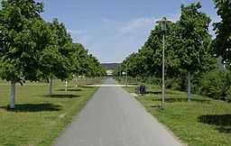 Martin-Luther-King-Weg in Erlangen