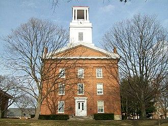 Marietta College - Marietta College's Erwin Hall.