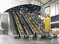 Escalators at Canary Wharf station - geograph.org.uk - 2318748.jpg