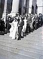 Esküvői csoportkép, 1946 Budapest. Fortepan 105209.jpg
