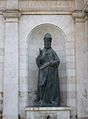 Estàtua d'Alexandre VI a la font de la Nau, València.JPG