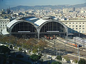 Image illustrative de l'article Gare de Barcelone-França