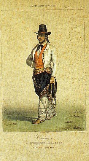 Casimiro Alegre - Landowner of Buenos Aires (1840)