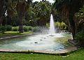 Estany amb font, jardins del real, València.JPG