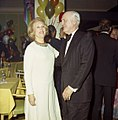 Estee Lauder with oilman Algur Meadows celebrating New Year's at Club 265 (23961328712).jpg