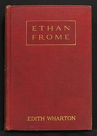 ethan frome  ethan frome first edition cover jpg