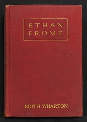 Ethan Frome - Image: Ethan Frome first edition cover