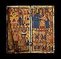 Ethiopian - Right Diptych Panel with Virgin and Child Flanked by Archangels - Walters 363 - Open.jpg