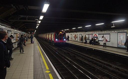 Euston Square tube station MMB 05 S-Stock