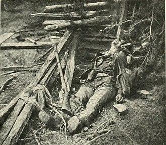 Bloomsbury Farm (Spotsylvania County, Virginia) - Image: Ewells Dead Spotsylvania 1864crop 02