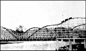 Excelsior, Minnesota -  The Cyclone, Excelsior Amusement Park, 1925-1973