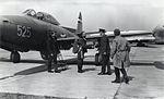 F-84G-31-RE Thunderjet - admission to the Aeronautical Museum-Belgrade.jpg