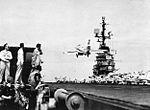 F9F-8 of VF-81 lands on USS Intrepid (CVA-11) in 1958.jpg