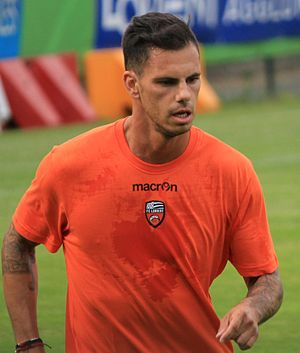 Jérémie Aliadière - Aliadière training with Lorient in 2013