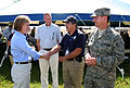 FEMA - 30664 - FEMA FCO Karl and Congresswoman Boyda shake hands in Kansas.jpg