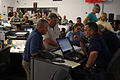 FEMA - 37948 - FEMA employees at the state emergency operations center in Louisiana.jpg