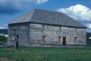 Fort St. James - Image: FORT ST. JAMES NATIONAL HISTORIC SITE , BRITISH COLUMBIA