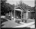 FRONT AND SOUTH SIDE - Suburb Gracie, 825-827 Frisco Street (House), Baton Rouge, East Baton Rouge Parish, LA HABS LA,17-BATRO,12A-2.tif