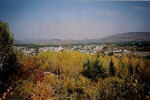 Saint-David-de-Falardeau - Image: Falardeau automne