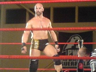 Christopher Daniels - Christopher Daniels at a Pro Wrestling Guerrilla event in 2007