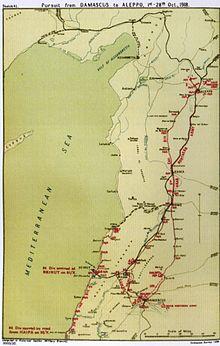 battle of aleppo 1918 ile ilgili görsel sonucu