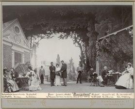 Familjeband, Dramatiska teatern 1901. Föreställningsbild - SMV - H12 034.tif