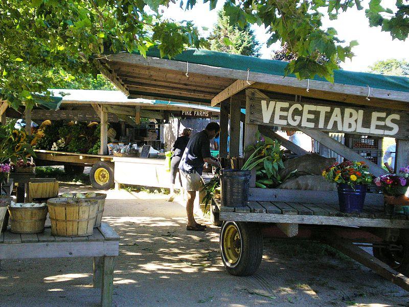 File:Farmer's Market Bridgehampton.JPG