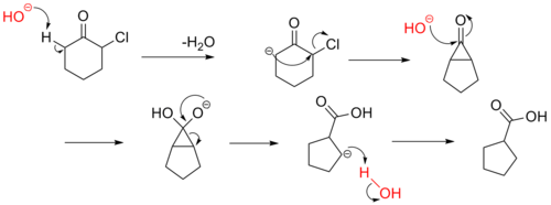 Favorskii Rearrangement Mechanism.png
