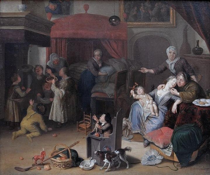 Fichier:Feast of St Nicholas Richard Brakenburg.jpg