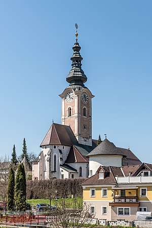 Parish church Assumption of Mary, Feldkirchen, Carinthia, Austria