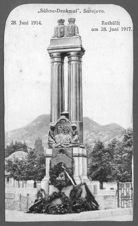 Ferenc Ferdinánd emlékmű