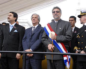 Fernando Lugo and Tabare vazquez