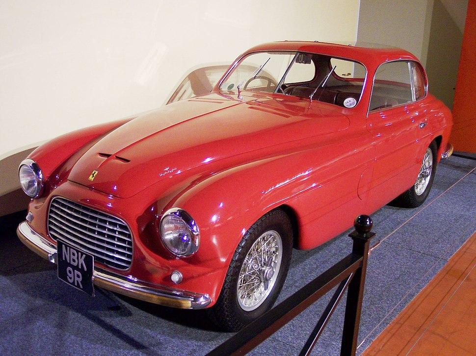 Ferrari 166 Inter Coupé Touring 1949