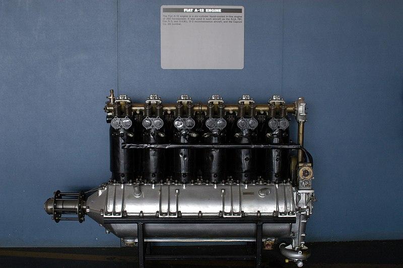 Arquivo: Fiat A.12, Galeria de Pesquisa & Desenvolvimento, Museum.jpg Nacional USAF