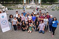 Final photo at the third Wikimania 2015 Volunteer Team Meeting 02.jpg