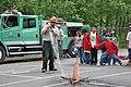 Fire Prevention Demonstaration at EarthCorp - Earth Day @ Dearborn Park Elementary (31993959371).jpg