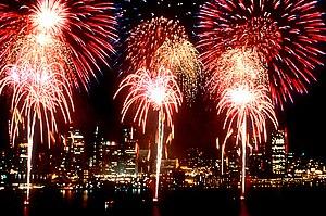 Culture of Detroit - Fireworks at the Windsor-Detroit International Freedom Festival