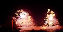 Fireworks on the 75th. Golden Gate anniversary.jpg