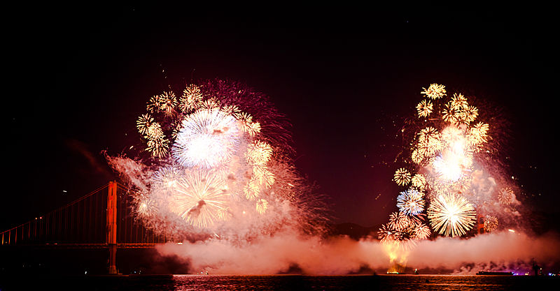 File:Fireworks on the 75th. Golden Gate anniversary.jpg