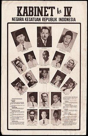 First Ali Sastroamidjojo Cabinet