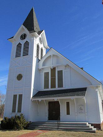 C. Willis Damon - First Universalist Church, Kingston, NH. 1879.