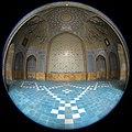 "Fisheye lenses - Canon 8-15 ""Chahar Bagh School"" لنز فیش آی (چشم ماهی) 8-19 کانن، مدرسه چهار باغ اصفهان- ایران.jpg"